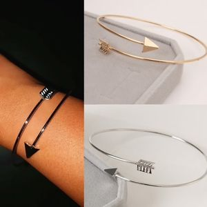 Boho Adjustable Arrow Cuff Bracelet New